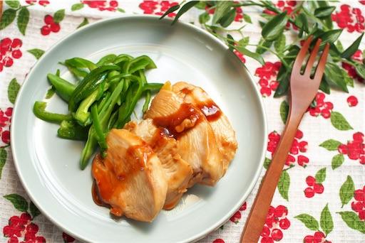 鶏むね肉のマーマレード