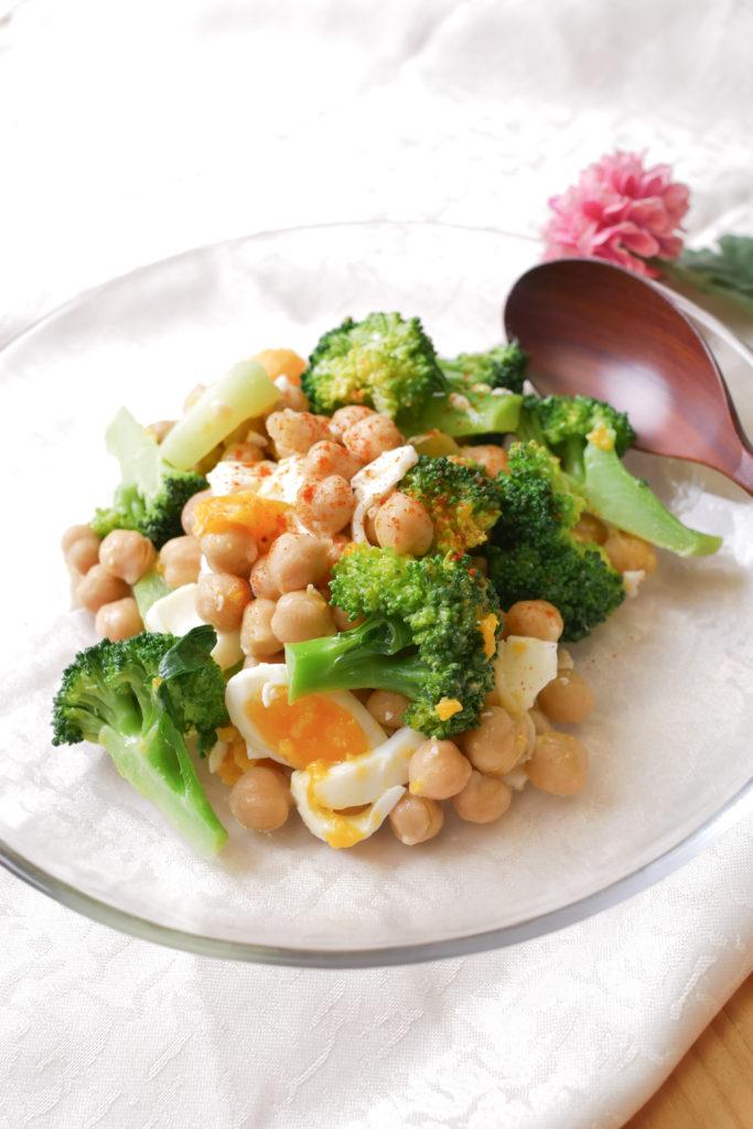 ひよこ豆のパワーサラダ