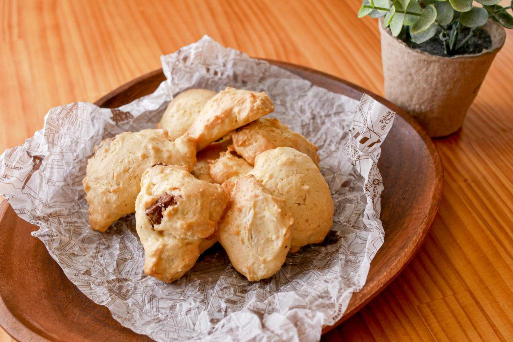 ドロップクッキーの盛り付け令盛り付け例
