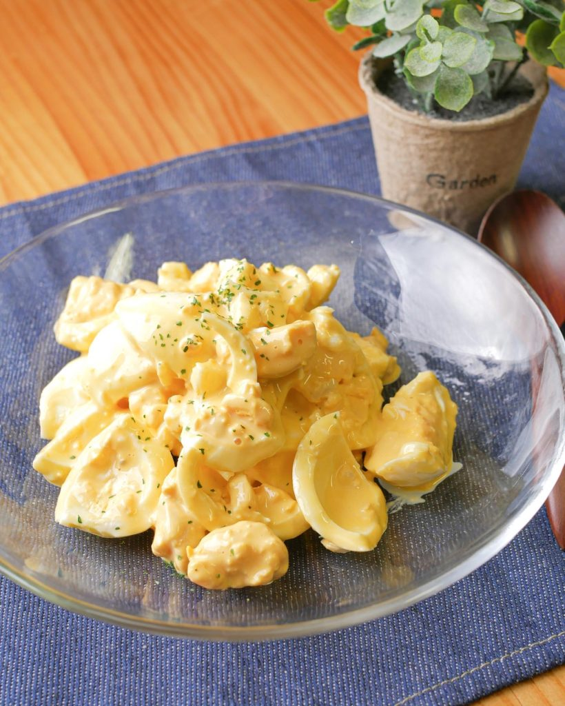 究極の卵サラダ