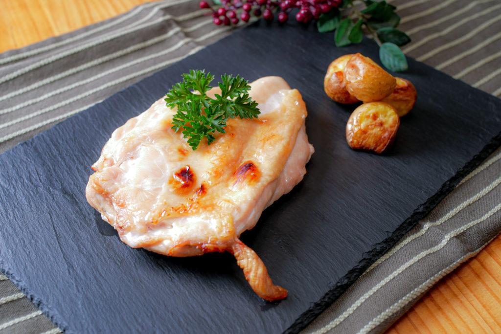 鶏胸肉のしっとり焼き
